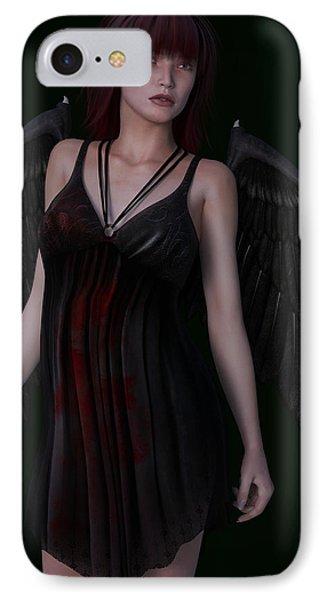 Fallen Angel IPhone Case by Maynard Ellis