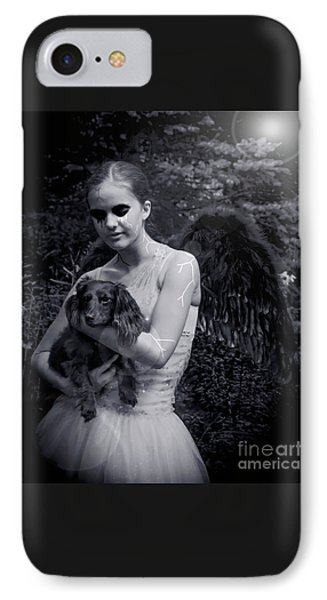 IPhone Case featuring the photograph Fallen Angel by Rebecca Margraf