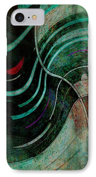 IPhone Case featuring the digital art Fallen Angle by Sheila Mcdonald