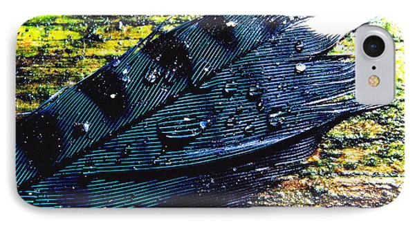 Fallen Feather Phone Case by Thomas R Fletcher