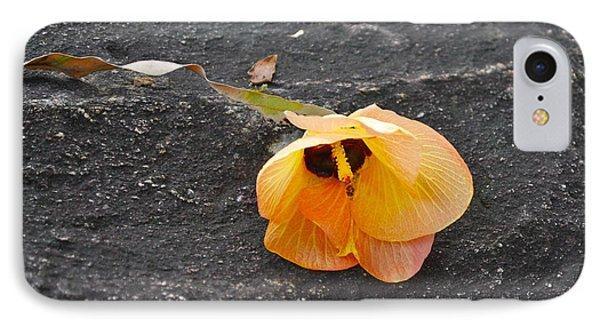Fallen Flower IPhone Case