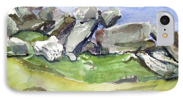 Fallen Stones IPhone Case