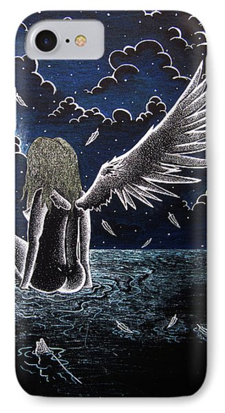 Falling Angel IPhone Case