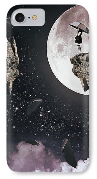 Falling IPhone Case by Mihaela Pater