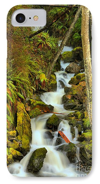 Falling Through Fens And Moss IPhone Case by Adam Jewell