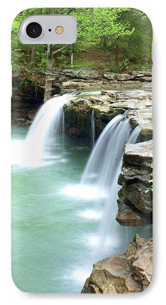 Falling Water Falls 5 Phone Case by Marty Koch