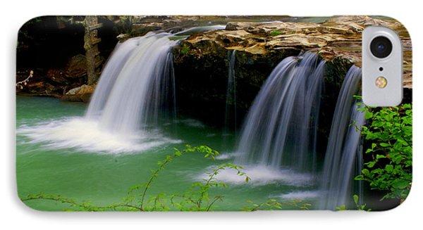 Falling Water Falls Phone Case by Marty Koch