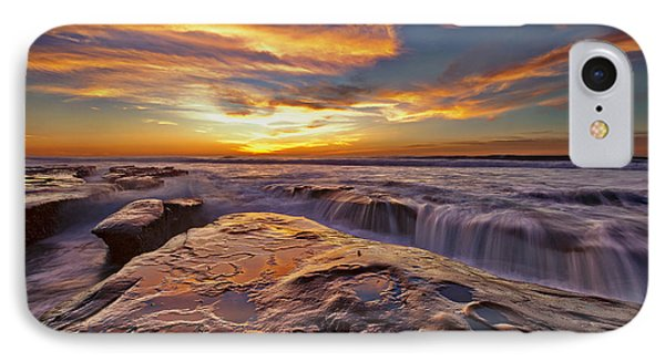 Falling Water IPhone Case by Sam Antonio Photography