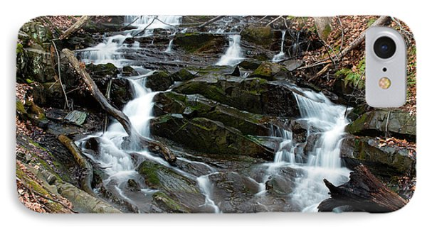 Falling Waters In February Phone Case by Jeff Severson