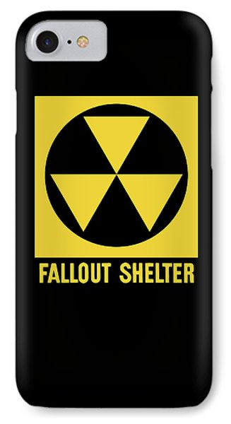 Fallout Shelter Sign IPhone Case
