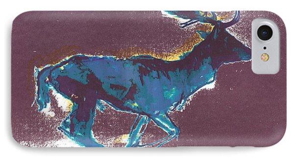 Fallow Buck IPhone Case by Mark Adlington