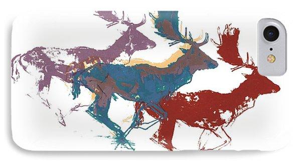 Fallow Bucks IPhone Case by Mark Adlington