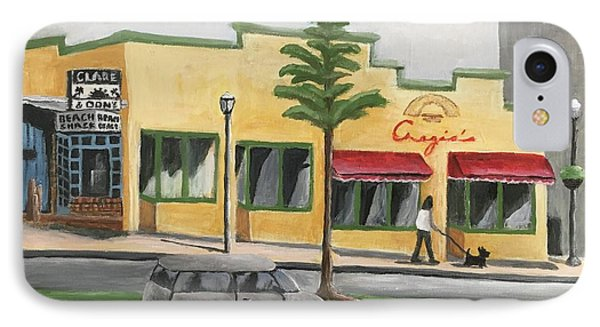 IPhone Case featuring the painting Falls Church by Victoria Lakes