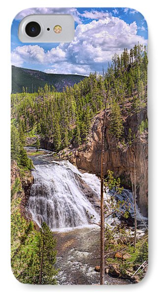 IPhone Case featuring the photograph Falls Of The Gibbon by John M Bailey