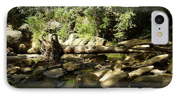 Falls Park IPhone Case by Flavia Westerwelle