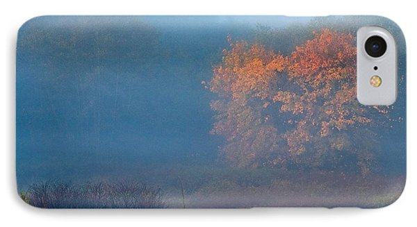 Falltime In The Meadow IPhone Case by Scott Holmes