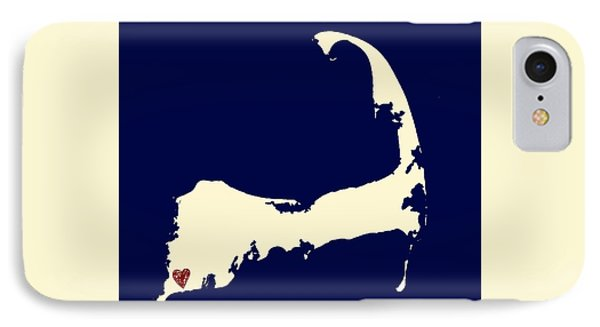 Falmouth Cape Cod V1 IPhone Case by Brandi Fitzgerald