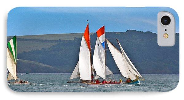 Falmouth Reggatta  IPhone Case by Brian Roscorla