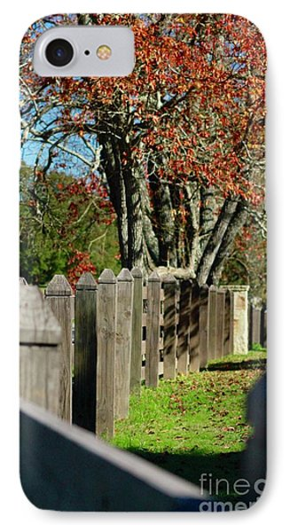 Familiar Fall IPhone Case by Lori Mellen-Pagliaro