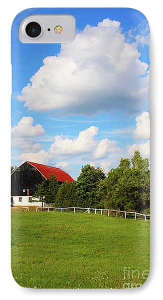 Family Farm IPhone Case by Anthony Djordjevic