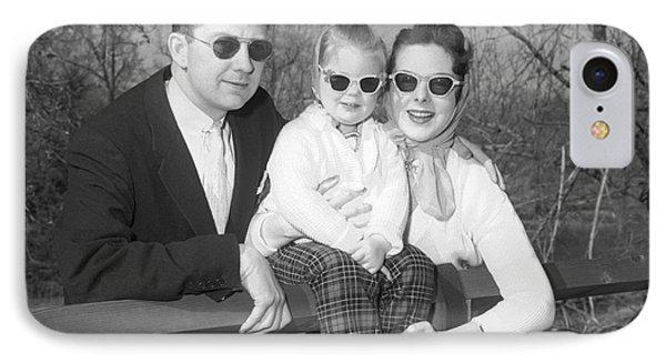 Family Portrait With Sunglasses, C.1950s IPhone Case