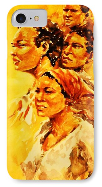 Family Ties IPhone Case by Al Brown