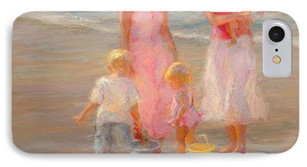 Family Time Phone Case by Diane Leonard