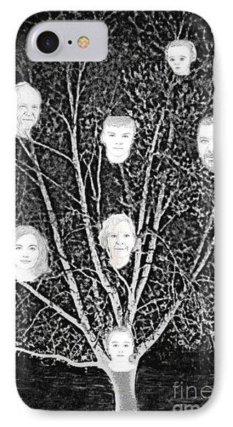 Family Tree Phone Case by Diamante Lavendar