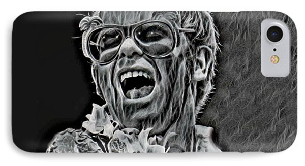 Famous Elton John IPhone Case by Pd