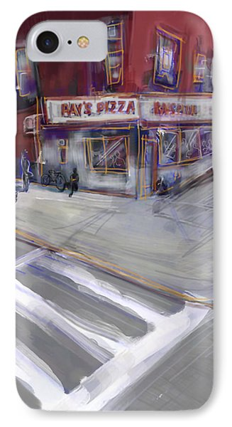Famous Ray's IPhone Case by Russell Pierce