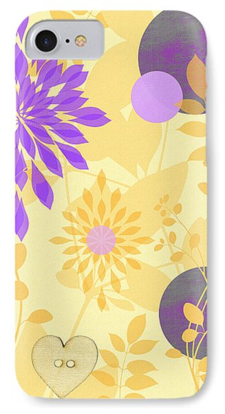Fanciful IPhone Case by Lisa S Baker