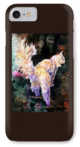 IPhone Case featuring the painting Fancy Britches by Sherry Shipley