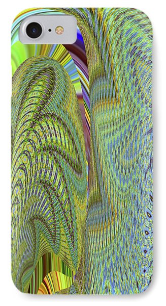 Fancy Dancer IPhone Case by Ann Johndro-Collins