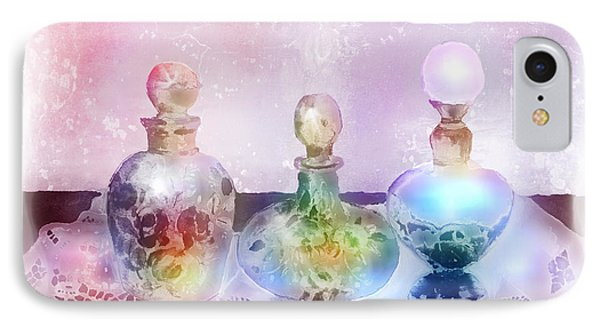 Fancy Perfume Bottles Phone Case by Arline Wagner