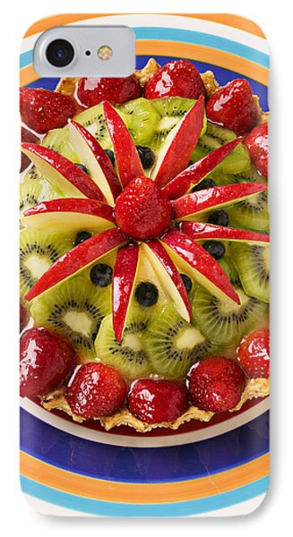 Fancy Tart Pie IPhone Case by Garry Gay