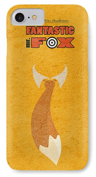 Fantastic Mr. Fox IPhone Case by Ayse Deniz