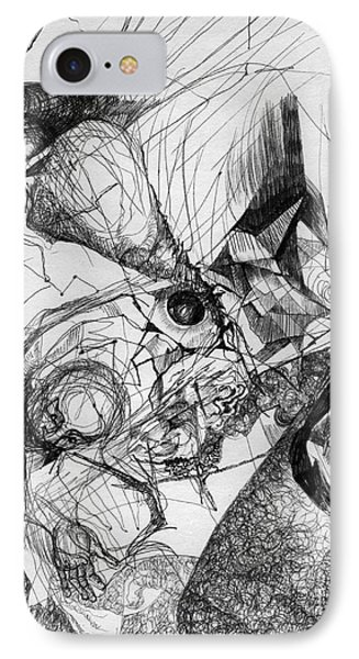 Fantasy Drawing 1 IPhone Case by Svetlana Novikova