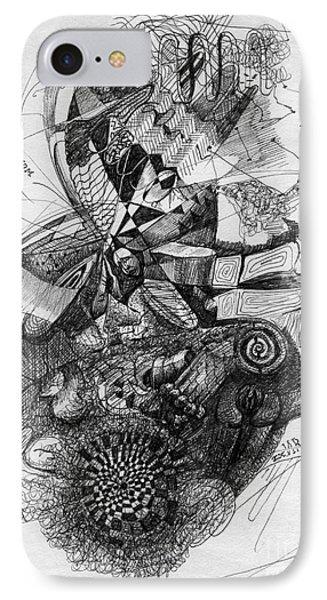 Fantasy Drawing 2 IPhone Case by Svetlana Novikova