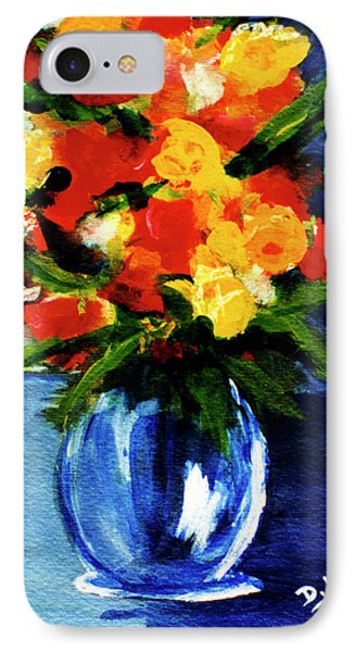 Fantasy Flowers #117 Phone Case by Donald k Hall