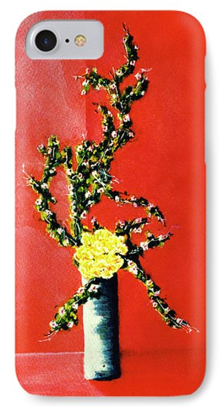 Fantasy Flowers Still Life #162 Phone Case by Donald k Hall