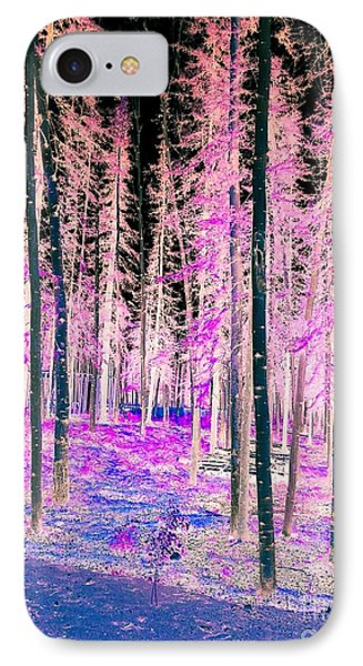 Fantasy Forest IPhone Case by Linda Bianic