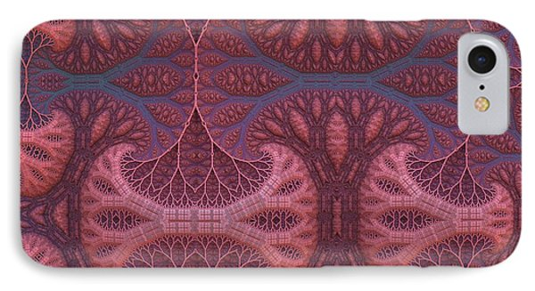 IPhone Case featuring the digital art Fantasy Forest by Lyle Hatch