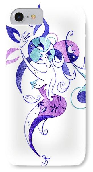Fantasy Illustration - Couple In Love IPhone Case by Arte Venezia