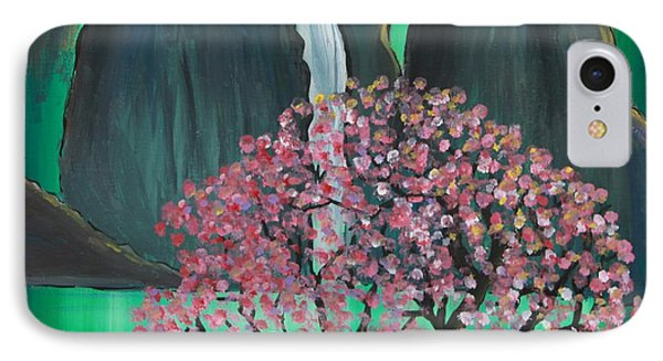 IPhone Case featuring the painting Fantasy Japan by Jacqueline Athmann