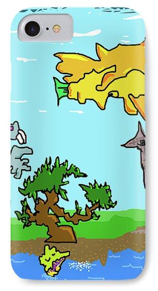 Fantasy Land IPhone Case by Jera Sky