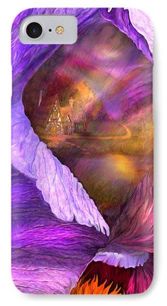 Fantasy Life Of An Iris IPhone Case by Carol Cavalaris