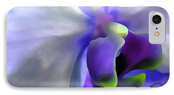 Fantasy Orchid IPhone Case by Krissy Katsimbras