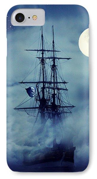 Fantasy Pirate Ship IPhone Case
