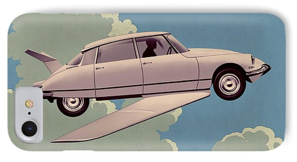 Fantomas 1965 - Right Panel IPhone Case by Udo Linke