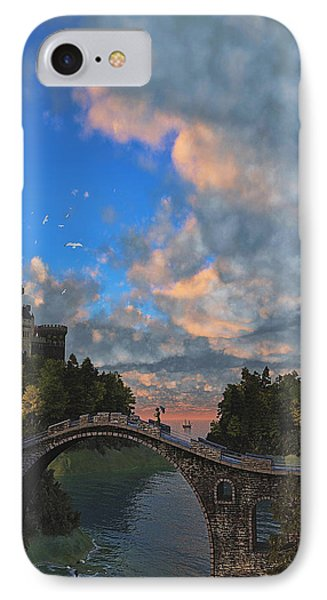 Far Away Place IPhone Case by Ken Morris